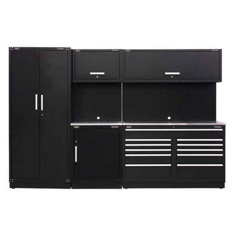 Storage System Combo Sealey APMSCOMBO2SS - Stainless Steel Worktop