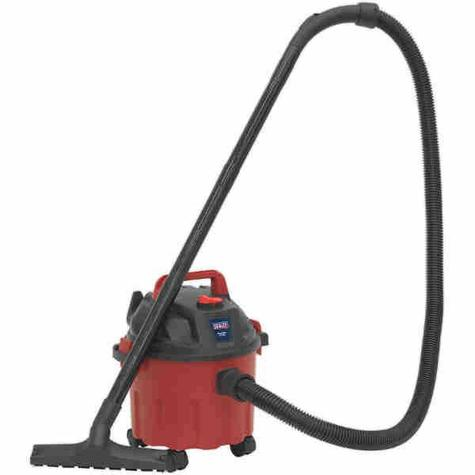 Vacuum Cleaner Sealey PC102 Wet & Dry 10ltr 1000W/230V