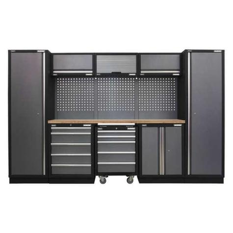 Modular Storage System Sealey APMSSTACK03W Combo