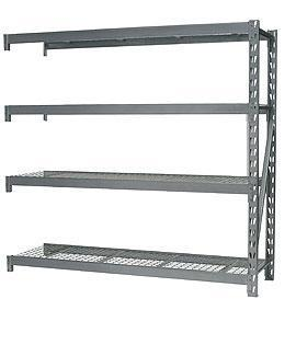 Racking Unit Sealey AP6572E Extension with 4 Mesh Shelves