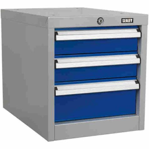 Drawer Unit Sealey API16 Industrial Triple for API Series Workbenches