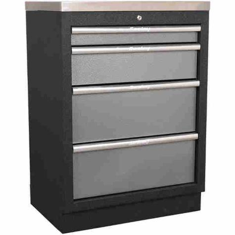 Cabinet Sealey APMS51 Modular 4 Drawer 680mm