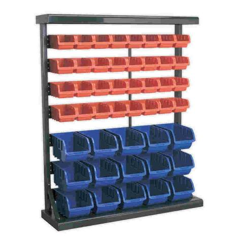 Storage System Sealey TPS47 Bin with 47 Bins