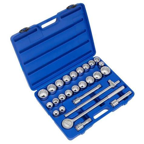 "Socket Set 26pc Sealey AK2582 3/4""Sq Drive"