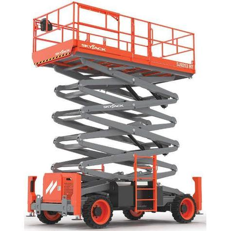 SkyJack 9253RT Rough Terrain Diesel Scissor Lift