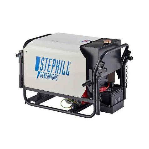 Stephill Generator Super Economy SE4000DLES  Diesel Electric Start 4.0kVA
