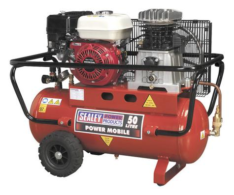 Compressor Sealey SA5055 50ltr Honda Engine