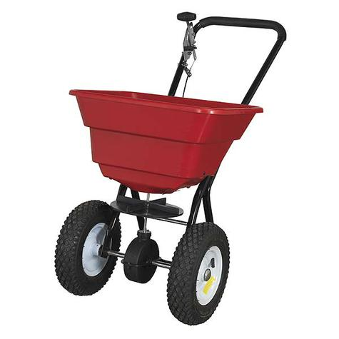 Seed Spreader Sealey SPB37W Broadcast Spreader 37kg Walk Behind