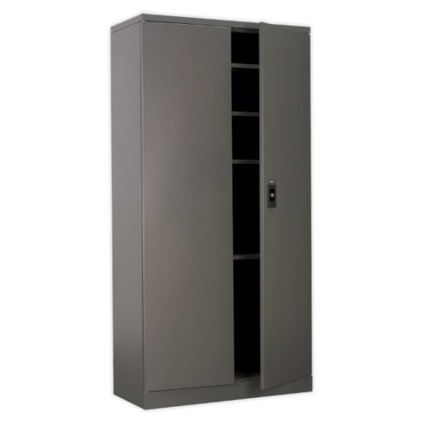 Stupendous Sealey Sc01 2 Door Floor Cabinet 900 X 400 X 1800 Home Interior And Landscaping Staixmapetitesourisinfo