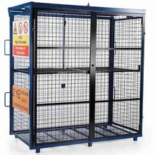 Van Vault S10360 Fold-away Gas Cage 1700 x 880 x 1735mm