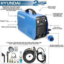 Plasma Cutter Hyundai HYCUT-40I 240V with text features