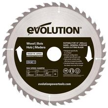 Evolution RAGE 255mm Wood TCT Blade