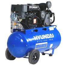 Hyundai HY70100P 7hp 90L Belt Drive Petrol Engine Air Compressor Pro Series