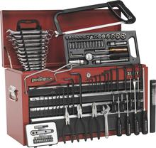 Sealey AP2201BBCOMBO Topchest 6 Drawer - Ball Bearing Runners - Red/Grey with 99pc Tool Kit
