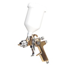 Sealey S701G Spray Gun Professional Gravity Feed 1.4mm Set-Up