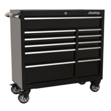 Sealey PTB105511 Rollcab 11 Drawer 1055mm Heavy-Duty Black
