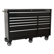 Sealey PTB142511 Rollcab 11 Drawer 1425mm Heavy-Duty Black