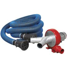 Sealey EFS102 Exhaust Fume Extraction System 230V - 370W - Twin Duct