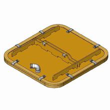 Probst SPS-1500(1000)-80/75 Suction Plate for SH Lifting Devices