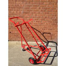 Cylinder Trolley Twin Superior With 3 Wheels - 2 X Oxygen OR Acrtylene