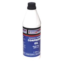 Compressor Oil Sealey CP01S 1ltr
