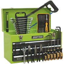 Tool Chest Sealey AP9243BBHVCOM 3 Drawer - Hi-Vis & 93pc Tool Kit
