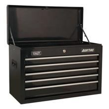 Topchest Sealey AP225B 5 Drawer with Ball Bearing Slides - Black
