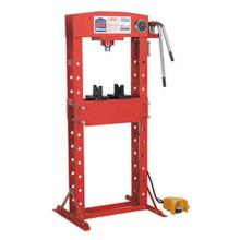 Sealey YK309FAH 30ton Air/Hydraulic Floor Press with Foot Pedal