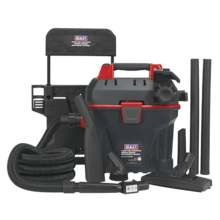 Garage Vacuum Sealey GV180WM 1500W with Remote Control - Wall Mounting