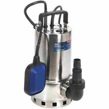 Submersible Water Pump Sealey WPS225A Stainless Automatic Dirty Water 225ltr/min 230V