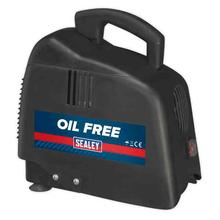 Sealey SAC00015 Compressor without Tank Belt Drive 1.5hp Oil Free