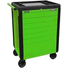 Rollcab Sealey APPD7G 7 Drawer Push-To-Open Hi-Vis Green
