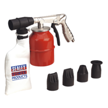 Sealey SG10 Air Recirculating Sand Blasting Kit