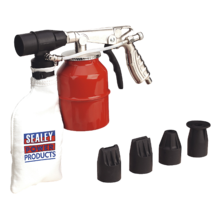 Sealey SG12 Extra Heavy-Duty Recirculating Sand Blasting Kit