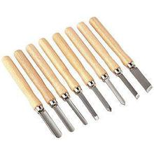 Sealey AK60/8 Wood Turning Chisels 8pc