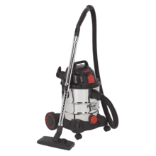 Sealey PC200SDAUTO Industrial 20ltr 1400W/230V Auto Start Vacuum Cleaner