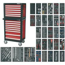 Sealey APTTC02 14 Drawer Topchest & Rollcab Combination with 1231pc Tool Kit