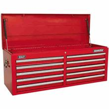 Tool Chest Sealey Superline Pro AP5210T Topchest 10 Drawer - Red