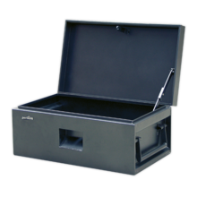 Van Storage Chest Sealey STB01 812 x 482 x 355mm  sc 1 st  Express Tools & Van u0026 Truck Storage Boxes Roof Tubes Van Vault u0026 Armorgard ...