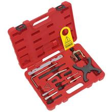 Sealey VSE5042 Diesel/Petrol Engine Setting/Locking Master Kit - Ford - Belt/Chain Drive