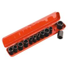 Sealey AK682 Impact Socket Set 12pc 3/8'Sq Drive Metric/Imperial