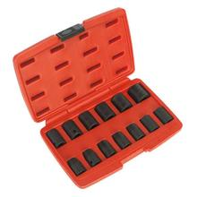 Sealey AK5613M Impact Socket Set 13pc 1/2'Sq Drive Metric