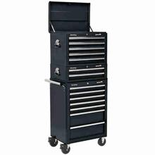 Tool Chest Combination Sealey APSTACKTB 14 Drawer - Black