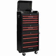 Tool Chest Combination Sealey AP28COMBO2BR Retro Style - Black and Red