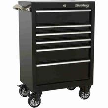 Rollcab Sealey PTB67506 6 Drawer Heavy-Duty Black